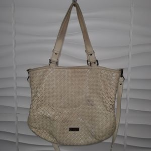 Cole Haan Leather Crossbody Tote